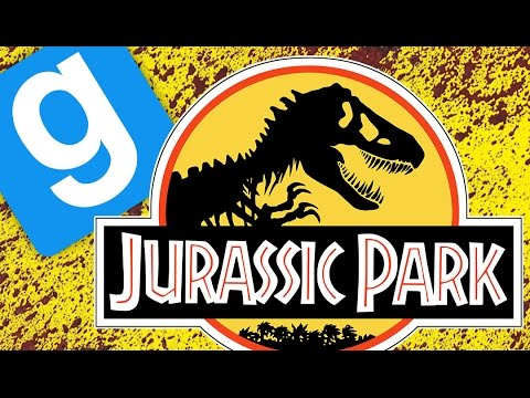 JURASSIC PARK ESCAPE! | Gmod Sandbox Funny Moments