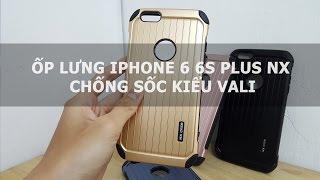 Ốp lưng iPhone 6 6s Plus NX chống sốc kiểu vali - Đồ Chơi Di Động .com
