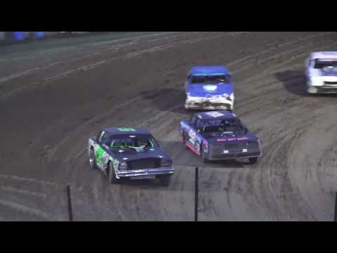 Street Stock Heat Race #2 at Crystal Motor Speedway, Michigan on 08-31-2019!