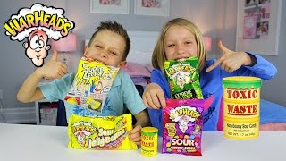 Extreme Sour Candy Review | Warheads Challenge Toxic Waste Super Lemon Japanese Candy