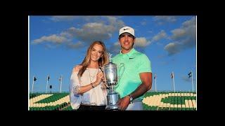 U.S. Open 2018: Brooks Koepka's girlfriend Jena Sims on Joe Buck's mistake and being the new WAG ...
