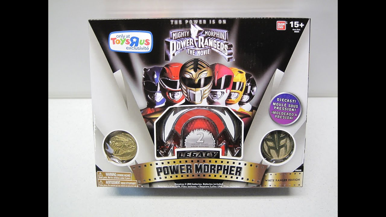 Mighty Morphin Power Rangers the Movie (White Ranger ...