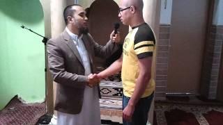 Shahada Moskee Dar al-Hijrah (16-09-2011) Broeder