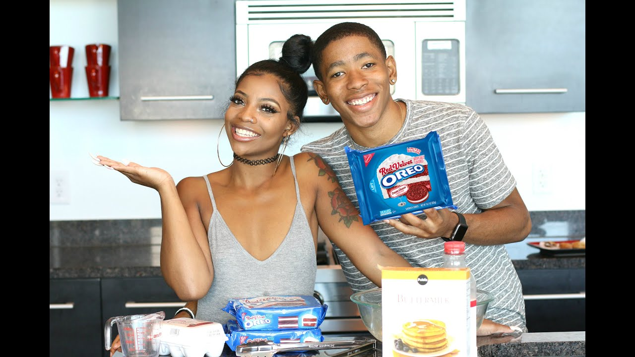 Cooking With Dk4l How To Make Fried Quot Red Velvet Quot Oreos
