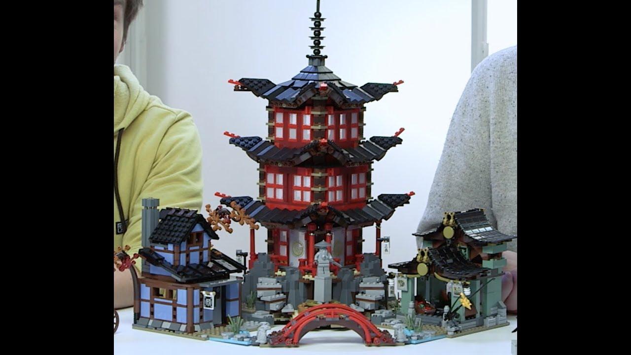 Temple Of Airjitzu Lego Ninjago Designer Video 70751