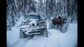 Зимний выезд на оффроуд вместе с OFFROADSPB