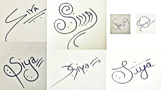 """How to Draw Signature like a Billionaire (For Alphabet """"S"""")"""
