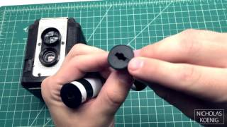Argus 75 - Modified to use 120 Film