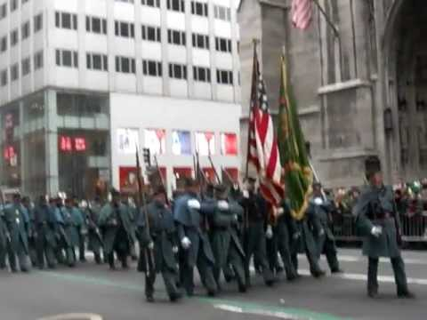 Gen. Meagher's Irish Volunteers in the 2013 St. Patrick's Day Parade