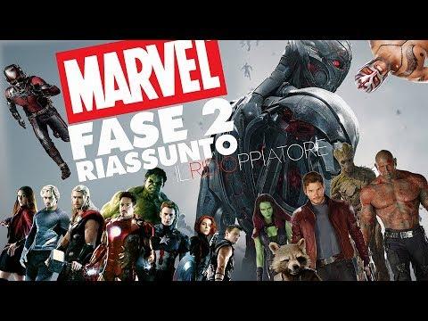 Il RIASSUNTONE della FASE 2 MARVEL (Ultron, Guardiani della Galassia etc.) #ILRidoppiatore