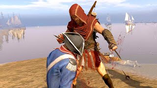 The Hidden Blades of Alexios - Assassin's Creed 3 Remastered  - Brutal Combat & Rampage Gameplay