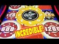 INCREDIBLE BIG WIN START TO A GREAT DAY ★ MULTIPLE HITS ★ NEW 007