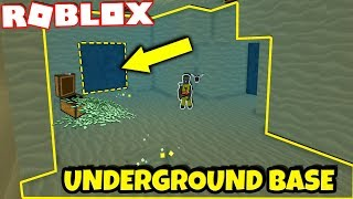 DIGGING A BASE IN TREASURE HUNT SIMULATOR!! *WORLD RECORD* (Roblox)