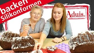 backen mit Silikonformen