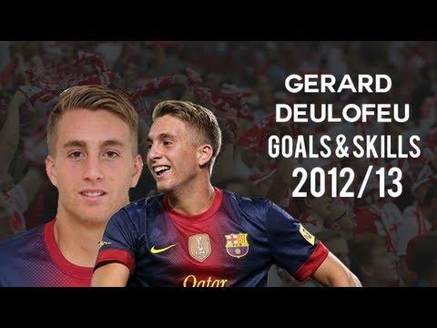 Gerard Deulofeu | Goals & Skills | Barcelona B | 2012/13