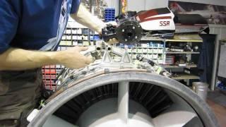 Orenda 14 Turbojet in the shop(, 2011-10-26T11:17:52.000Z)