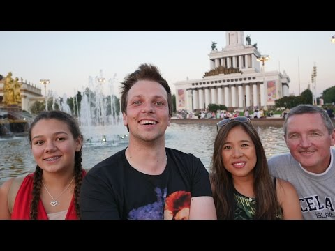 "The Andersons In My Moscow Tour. ""Real Russia"" Vlog 14."