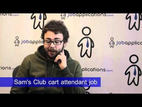 Sam's Club Interview - Cart Attendant