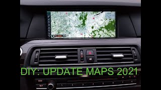 How to update BMW Navi -2018 maps