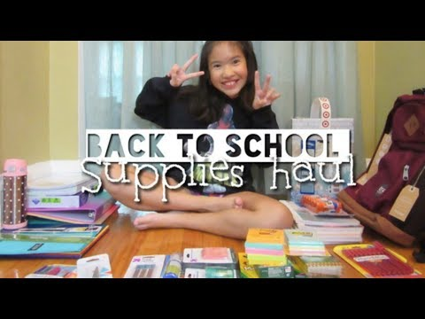 BACK TO SCHOOL SUPPLIES HAUL 2018 | 4TH GRADE