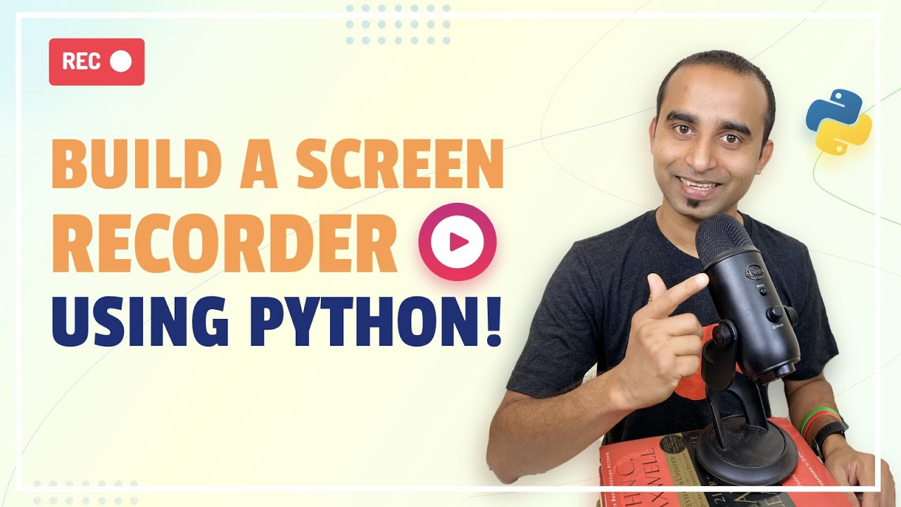 Build a Screen Recorder using Python | Screen Capture | Python Projects | Build OBS | Build Camtasia