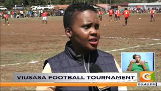 Viusasa football tournament