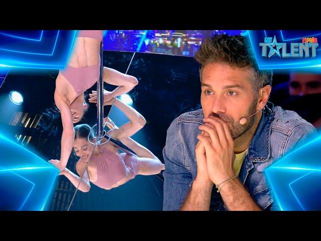 Martina BAILA POLE tras superar SUS MIEDOS PERSONALES   Audiciones 3   Got Talent España 7 (2021)