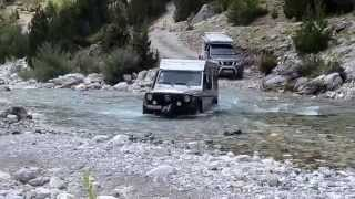 Offroad in Albanien 2013
