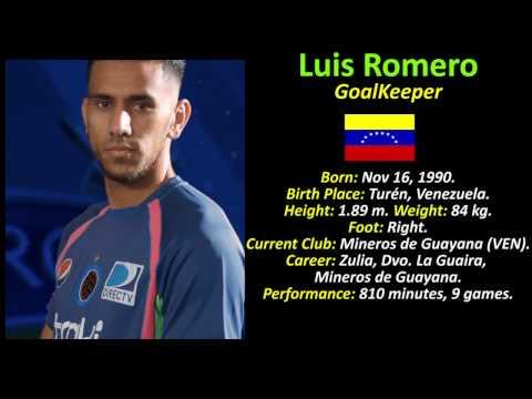 Luis Romero - Goalkeeper - Venezuela