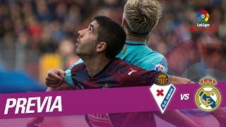 Previa SD Eibar vs Real Madrid