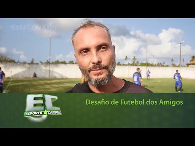 Ex-Jogador Duilio cria desafio de Futebol dos Amigos