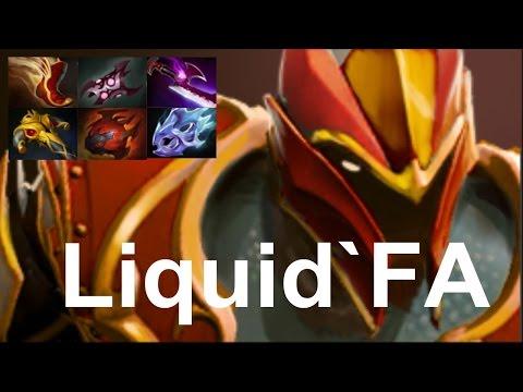 Liquid.Liquid`FATA- Dragon Knight vs Fnatic Dota 2