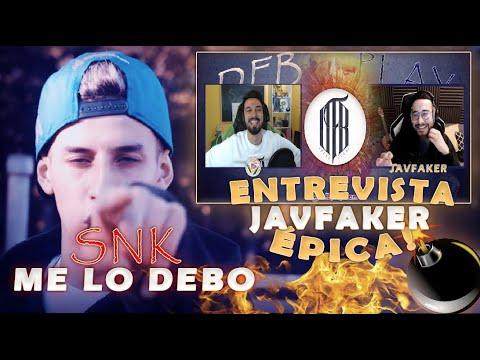 Download REACCIONO A LA NUEVA CANCION DE SNK - Me lo debo + ENTREVISTA ÉPICA A JAVFAKER
