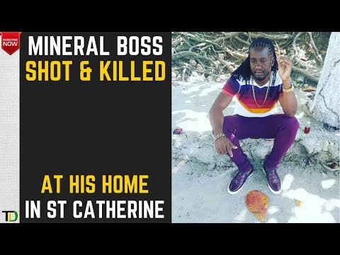 "Corey ""MINERAL BOSS"" Jones SHOT DEAD in Caymanas Bay St Catherine"