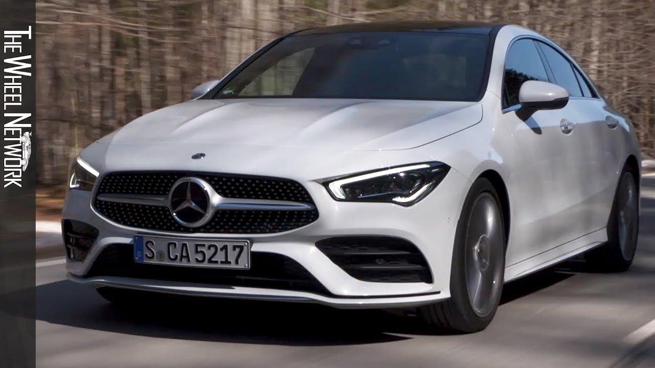 White Mercedes Benz >> 2020 Mercedes Benz Cla 220d Digital White Metallic Driving Interior Exterior