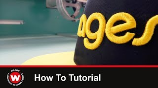 Wilcom Tutorial 2. How to digitize 3D puff embroidery.