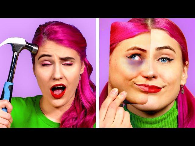 BEST Viral Video & Photo Hacks! Fun TikTok & Instagram Photo And Video Ideas By Crafty Panda