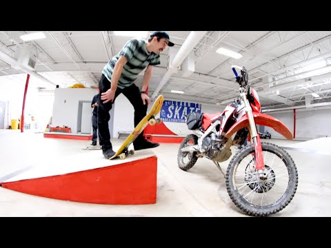 YOU MUST SKATE OVER YOUR MOTORCYCLE! (Don't Tip It Over!) from YouTube · Duration:  10 minutes 50 seconds