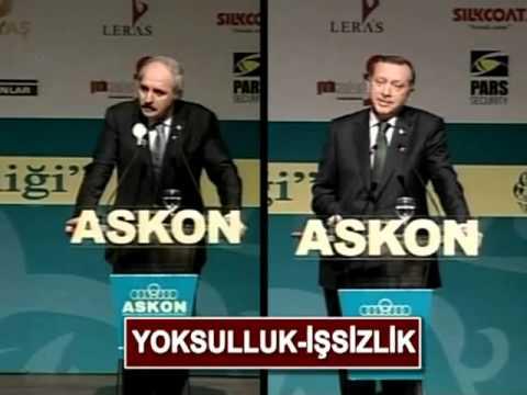 Numan Kurtulmuş vs Recep Tayyip Erdoğan