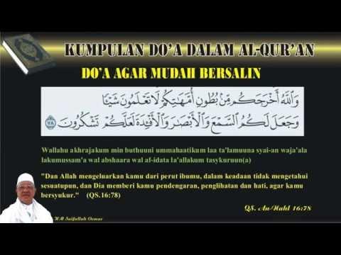 Do'a Agar Mudah Melahirkan - Qur'an Surat 16 An-Nahl ayat 78