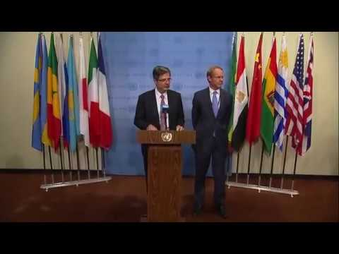 François Delattre (France) & Matthew Rycroft (United Kingdom) on Myanmar (13 October 2017)