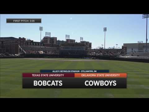 2/25 Cowboy Baseball vs. Texas State