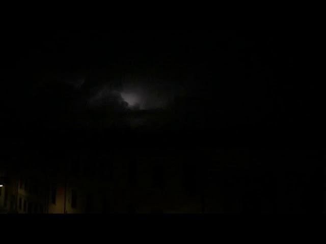 Pisa Lightning (Slow Morion)