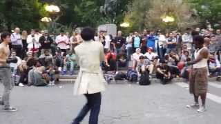 May21,2014 Union Square, Nyc Street Boxing Fight#3