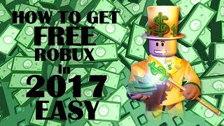 roblox-how to get free robux 2017