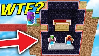 100% SECRET TROLL BUNKER in MINECRAFT BED WARS... ( FIRST EVER!!!)