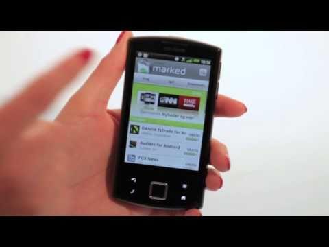 Garmin-Asus nüvifone A50 - opsætning til facebook