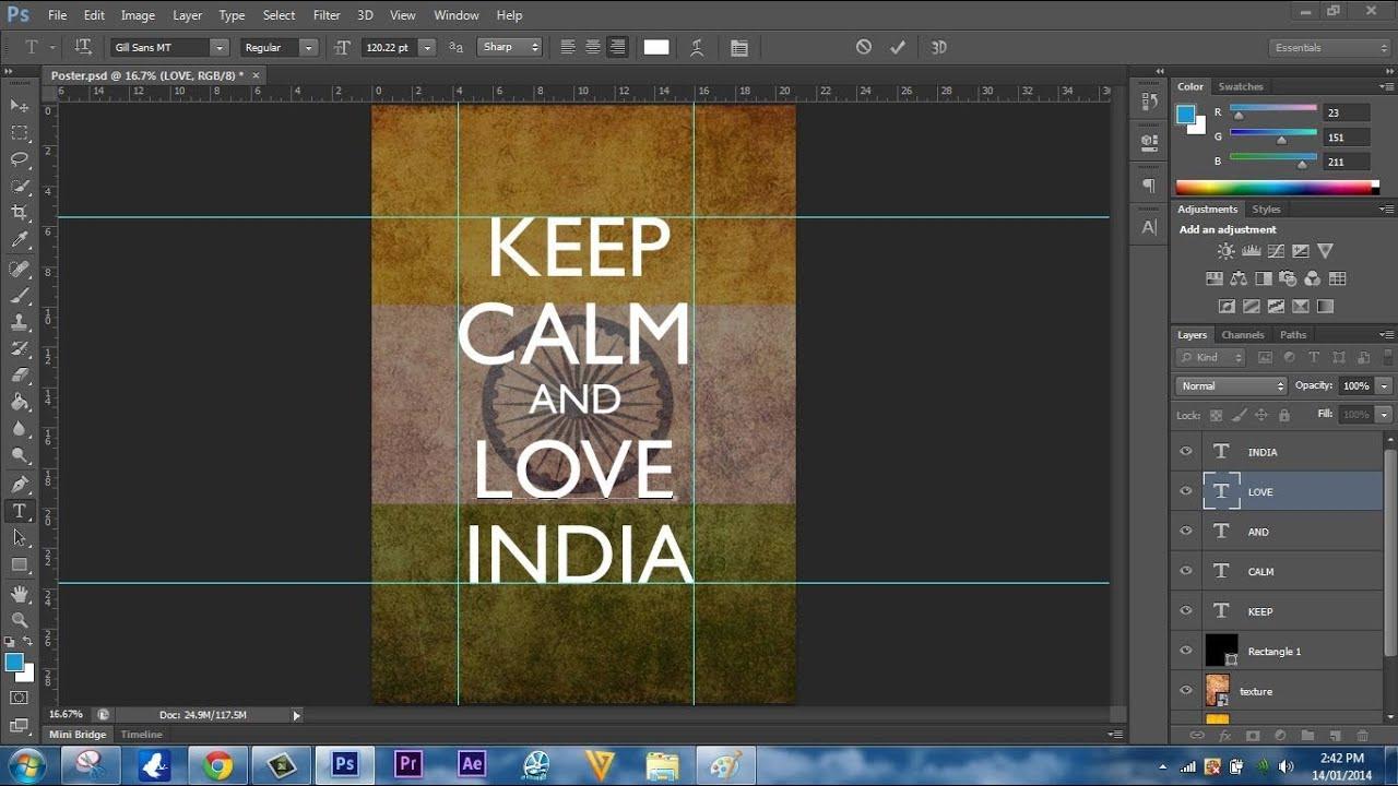 speedart making a keep calm and poster youtube