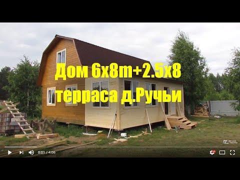 Закончена отделка дома строителями из Пестово.Дом был построен 07.07. 2016г.