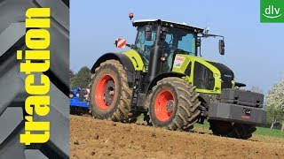 Claas Arion 540, Arion 660 & Axion 960 im traction-Erstkontakt